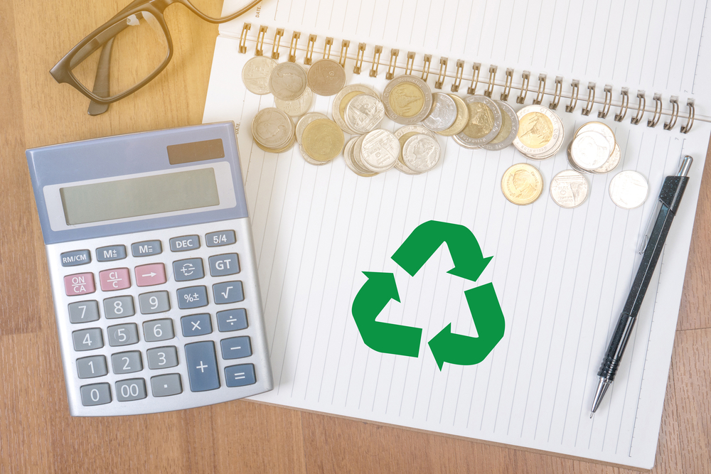 recycling saves money